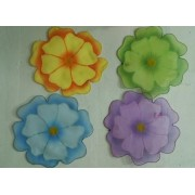 Капроновые цветы