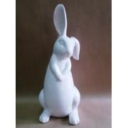 Фигурка зайца 29 см керамика