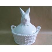 Фигурка зайца 21*22 см керамика