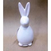 Фигурка зайца 9 см керамика