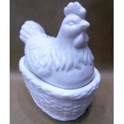 Фигурка курицы 25*17 см керамика