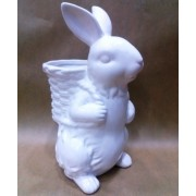 Фигурка зайца 20 см керамика