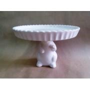 Фигурка зайца 13*15 см керамика