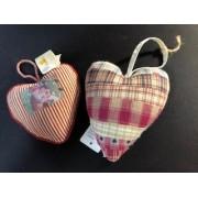Сердце ткань 10*10 см ко Дню Валентина