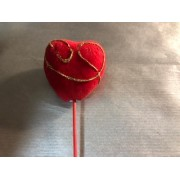 Сердце - пик 5 см ко Дню Валентина