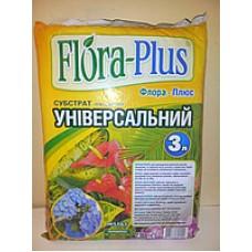 Субстрат Флора Плюс универсальный 3л