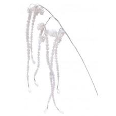 Декоративная ветка с шишками, 60см
