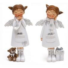 Девочка-ангел, белая 2 вида