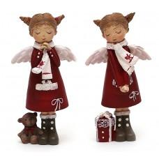 Девочка-ангел, красная, 2 вида