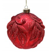 Набор шаров 10см (2шт) красный