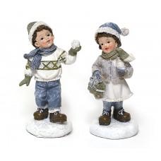 Декоративная статуэтка Детки, 2 вида