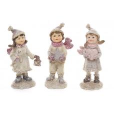 Декоративная статуэтка Детки, 3 вида