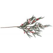 Декоративная ветка с ягодами 75см
