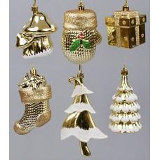 Новогоднее украшение, 6 видов